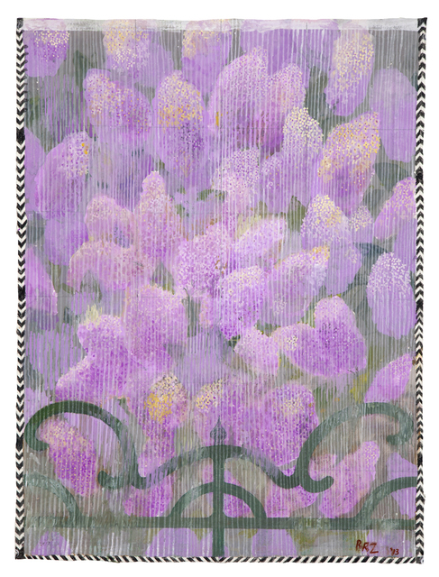 , 'Rain in the Lilac Garden,' 2013, Nancy Hoffman Gallery
