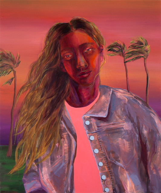, '​Girl at Sunset,' 2017, HATHAWAY | Contemporary Gallery