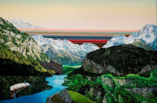 , 'Land of Plenty and Good,' 2018, Julie Nester Gallery