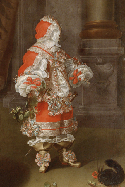 , 'Caput # 12 / 3188, based on: ERZHERZOG KARL JOSEPH (1649–1664), by Cornelis Sustermans, around 1653/1654,' 2018, Galerie Reinthaler