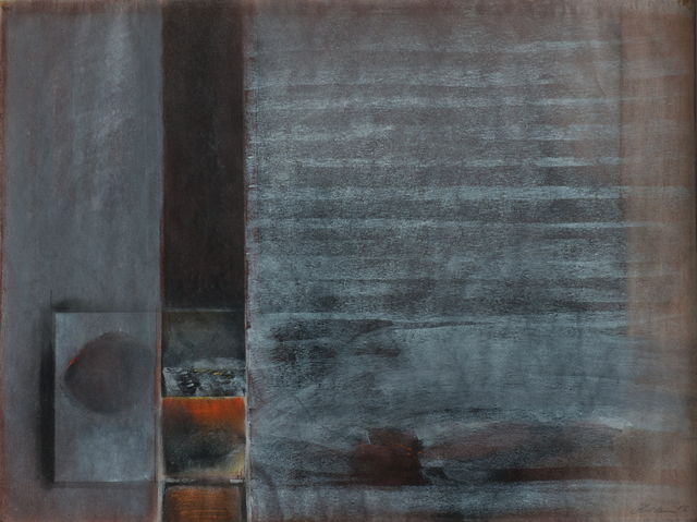, 'Grey and Orange Abstract ,' 1975, EBONY/CURATED