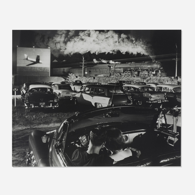 O. Winston Link, 'Hotshot Eastbound, Iaeger, West Virginia', 1956, Wright