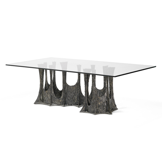 Paul Evans, 'Sculpted Bronze dining table (PE-102), USA', 1970, Rago