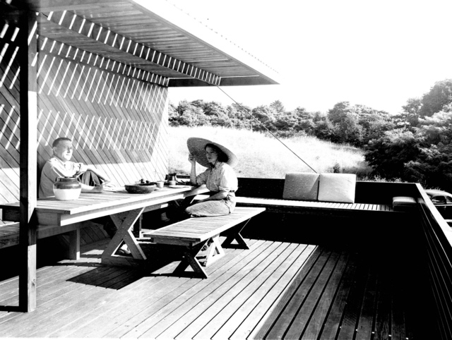 , 'Marcel and Connie Breuer, New Canaan, Connecticut (Marcel Breuer Architect),' 1949, Edward Cella Art and Architecture
