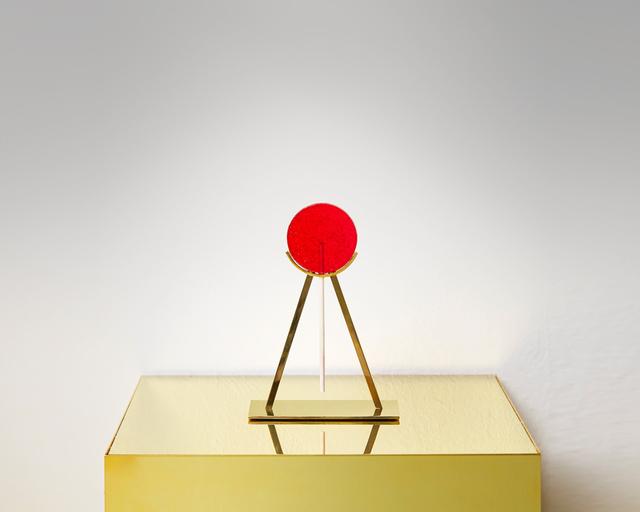 Yarisal & Kublitz, 'Rising Sun', 2014, Installation, Resin Lollipop, brass, Galerie Sébastien Bertrand
