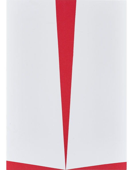 Carmen Herrera, 'Untitled (Red and White)', 2011, Lougher Contemporary