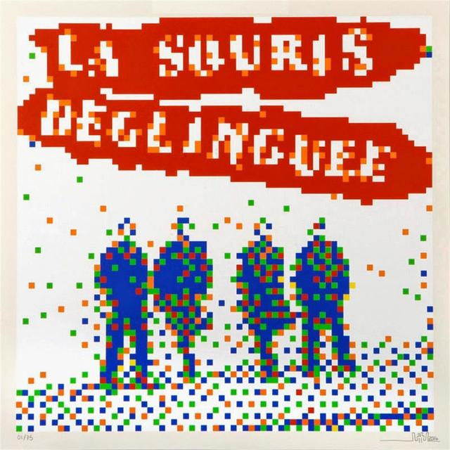 Invader, 'La Souris Deglinguee', 2008, Stowe Gallery
