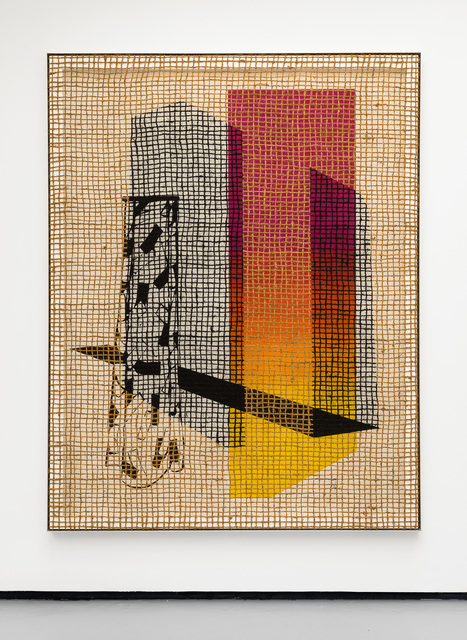 , 'Floorplan desire painting (spring lodgent),' 2016, VALENTIN