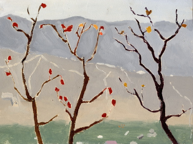 , 'The Last Few Red Leaves (Fragrant Hill),' 1978, Boers-Li Gallery