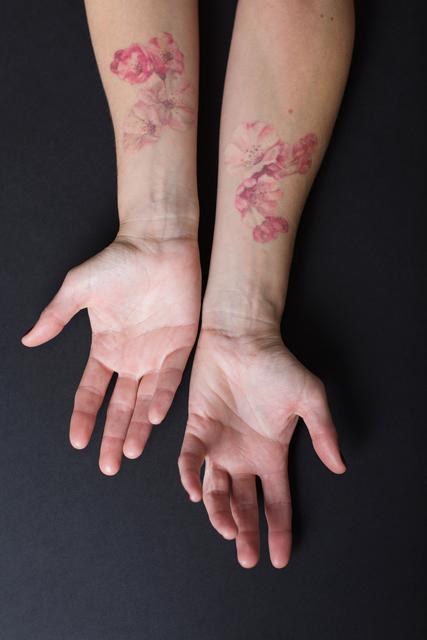 , 'Cherry Blossom Wrist Tattoo,' 2017, Ghostprint Gallery