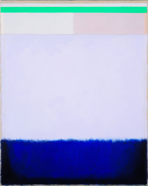 , 'Light Garnet Sky,' 2018, Charles Nodrum Gallery