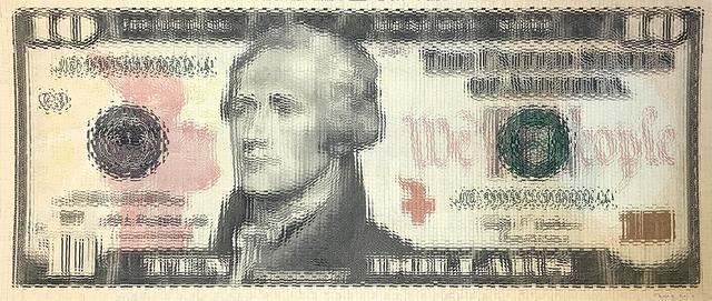 , 'Inflation - Ten Dollar 01,' 2017, Spoke Art