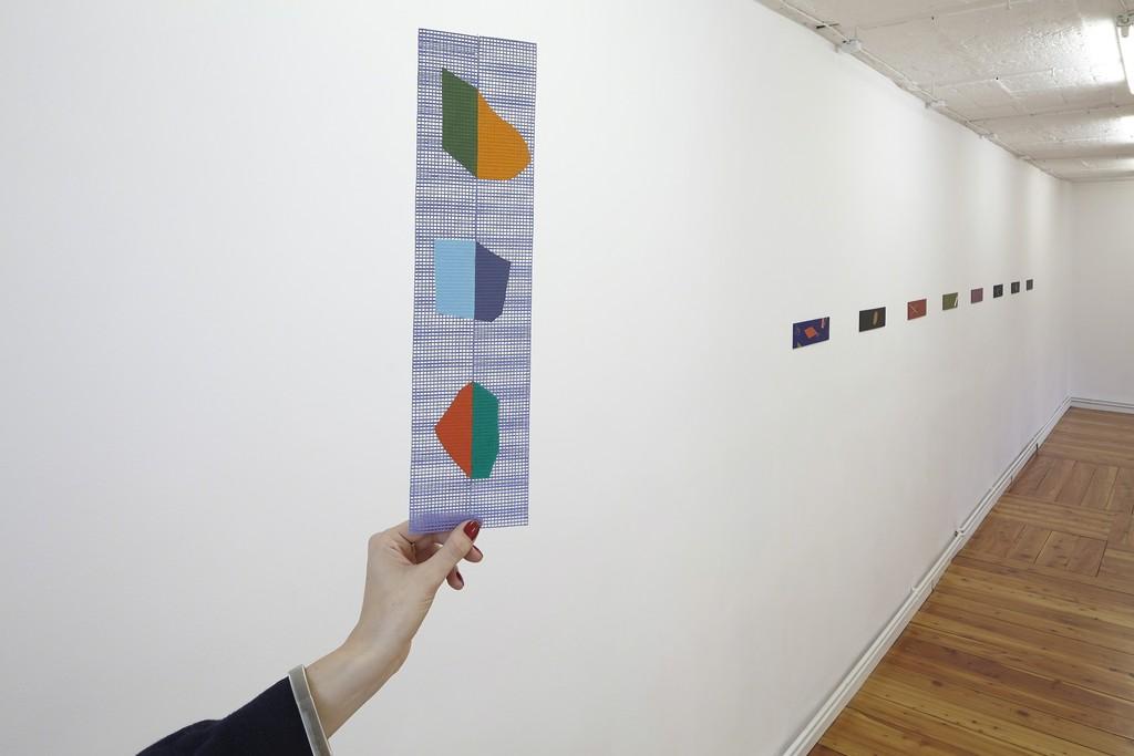 Olivier Guesselé-Garai, Tak Tak Nem Nem, exhibition view, 2017-2018; photo: Franciszek Buchner, courtesy Pola Magnetyczne