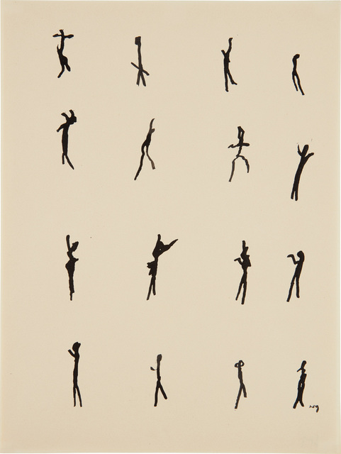 Henri Michaux, 'Mouvements', 1951, Phillips
