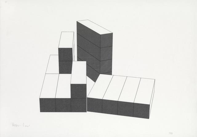 , 'Drawing 45,' 1991, Waterhouse & Dodd
