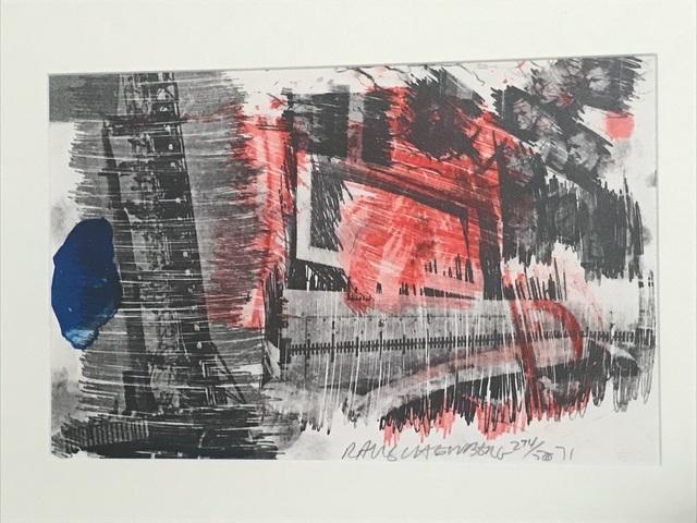 Robert Rauschenberg, 'Subtotal (from Stoned Moon Series)', 1971, Wallector