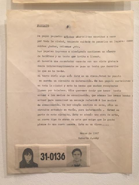 , 'Proyecto,' 1967, Baró Galeria