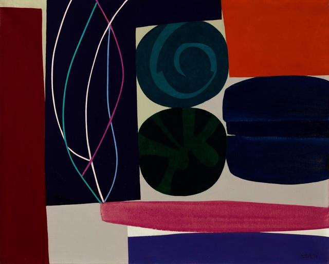 , 'Blue Vortex ,' 1967, Galerie F. Hessler