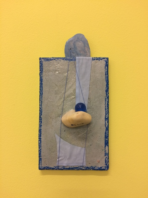 , 'Coup de blue,' 2017, Galleria Doris Ghetta