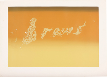 Ed Ruscha, 'Brews,' 1970, Phillips: Evening and Day Editions