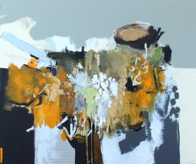 , 'Matières en mouvement 2,' 2017, Galerie de Bellefeuille