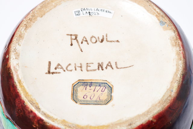 Raoul Lachenal, 'Abstract Landscape', C. 1900, Design/Decorative Art, Studio Stoneware, Jason Jacques Gallery