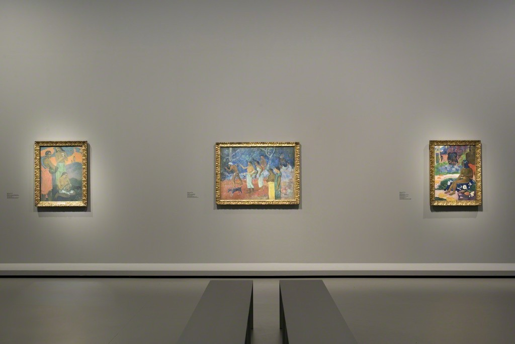 "View of Room 6 ""The Great Iconostasis. Paul Gauguin""