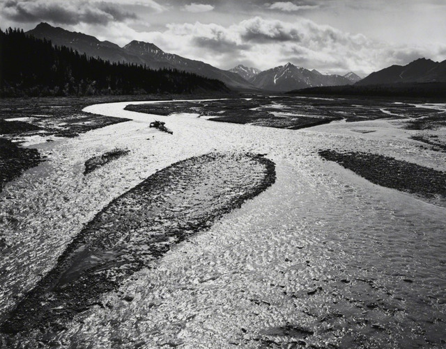 , 'Teklanika River, Mount McKinley National Park, Alaska,' 1947, Jackson Fine Art