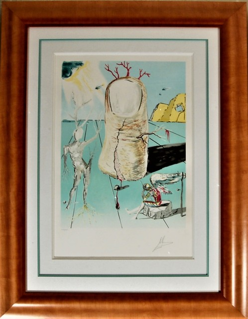 "Salvador Dalí, '""The Thumb, The Vision of the Angel of Cap Creus,""', 1979, Joseph Grossman Fine Art Gallery"