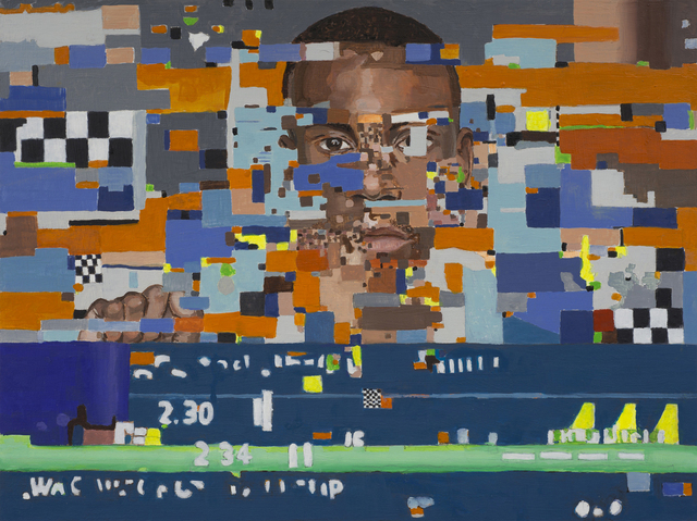 , 'Distortion 13 (Deray McKesson),' 2017, Bert Green Fine Art