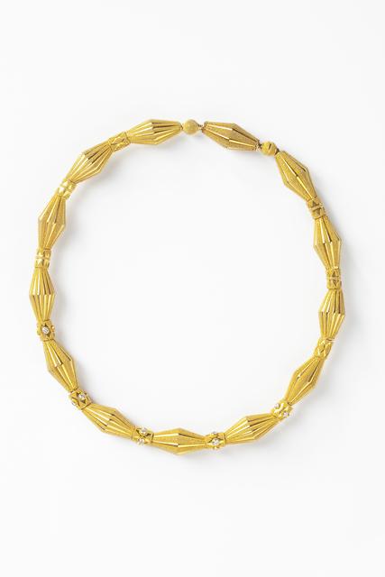 , 'Flute necklace,' , Caroline Van Hoek