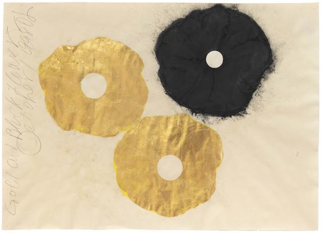 , 'Gold and Black Flower, 1 September 1998,' 1998, Huxley-Parlour