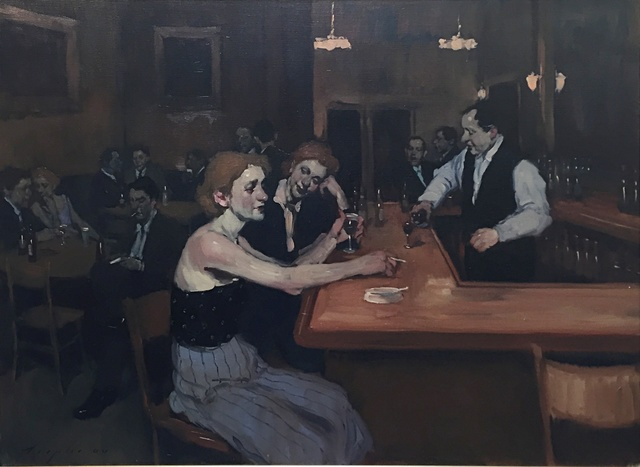 , 'Bar Scene,' 2000, Off The Wall Gallery