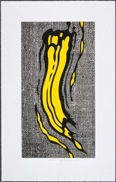 Roy Lichtenstein, 'Yellow Brushstroke', 1985, Gemini G.E.L. at Joni Moisant Weyl