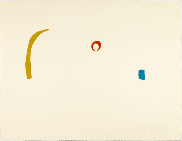 Joan Miró, 'From: Série Mallorca', 1973, Koller Auctions
