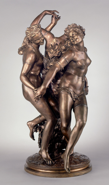 Jean-Baptiste Carpeaux, 'The Three Graces', 1872, Clark Art Institute