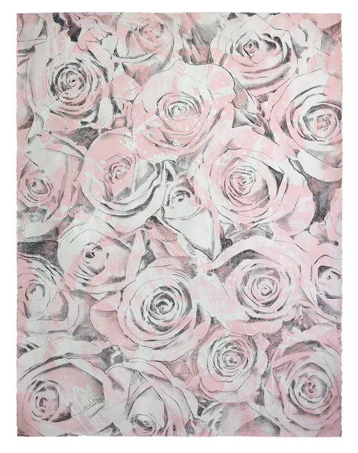 , 'Everlasting Bloom (Light Pink),' 2017, Brintz Gallery