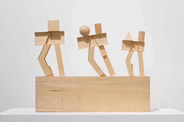 Melvin Charney, 'Fragment d'une histoire du génie... le défilé des Golems 1995-1998', 1995, Art Mûr