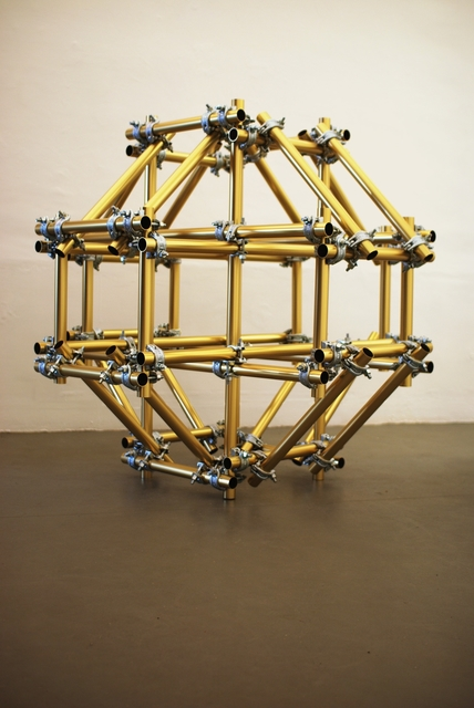 , 'Condensed Structure - gold version,' 2009, Albert Baronian