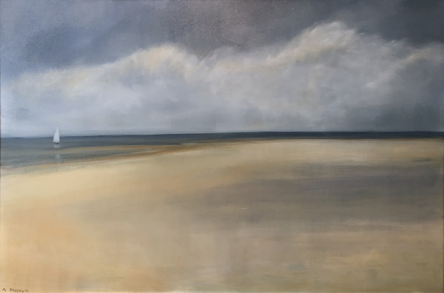 Anne Packard, 'Detached', 2018, Painting, Oil on canvas, Quidley & Company