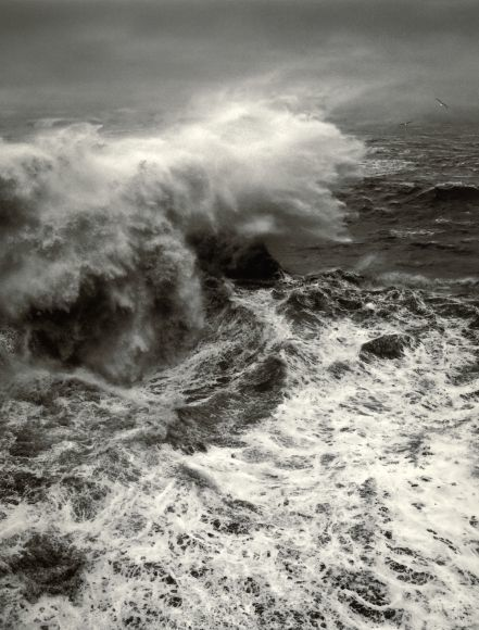 Pentti Sammallahti, 'The Atlantic, Portugal', 2010, Photography, Gelatin Silver Print, Peter Fetterman Gallery