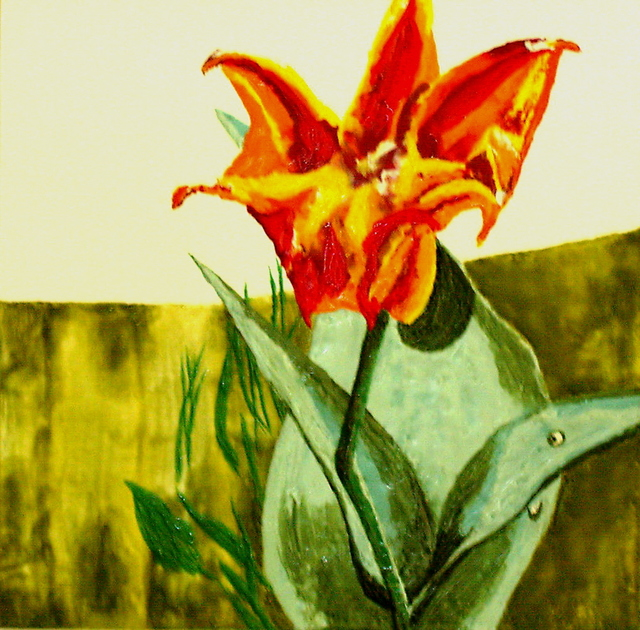 , 'Tulips Dying and Crying I,' 2008, Amos Eno Gallery