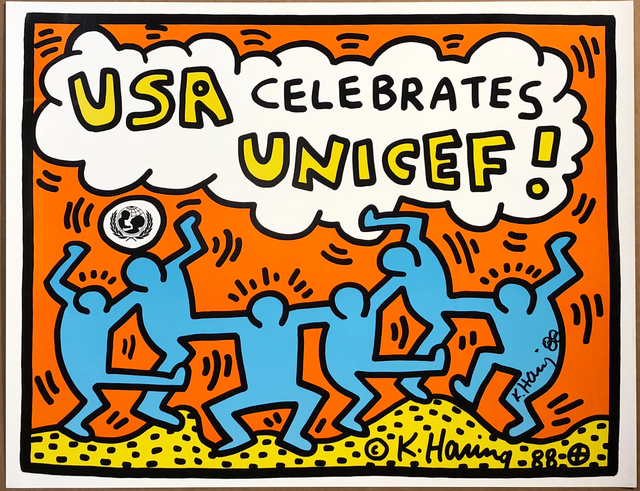 , 'USA Celebrates Unicef!,' 1988, Woodward Gallery