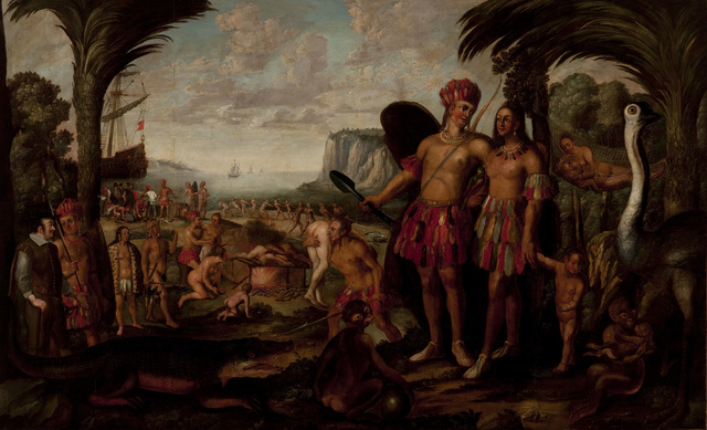 , 'America,' second half of the 17th century, Pinacoteca do Estado de São Paulo