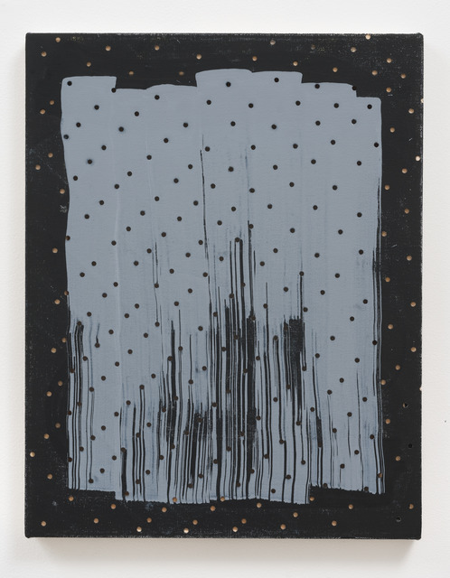 , 'Untitled (Dots/ Strokes/ Black),' , Roberts & Tilton
