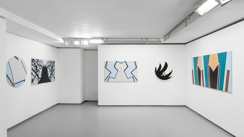 """Exhibition view Richard Marti-Vives """"Le déjà-peint"""""""