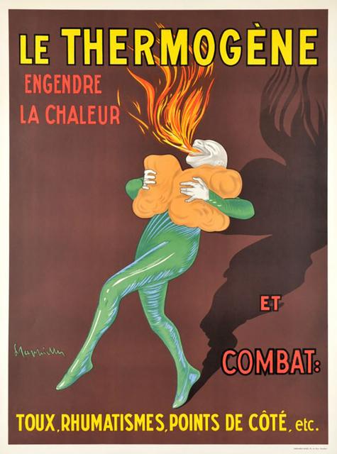 , 'LE THERMOGENE,' 1909, Galleria Alfieri
