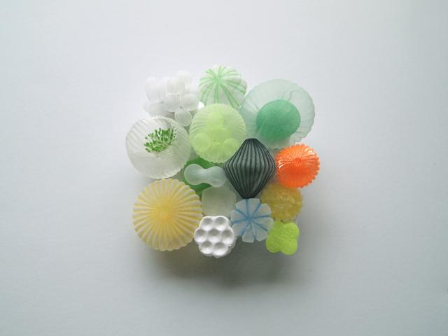 , 'Gathering, green,' 2020, Micheko Galerie
