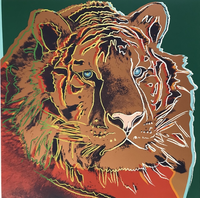 Andy Warhol, 'Siberian Tiger from Endangered Species', 1983, Fine Art Mia