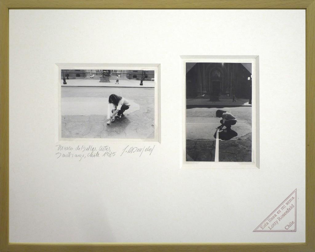 Lotty Rosenfeld, 'Museo de Bellas Artes,' 1985, espaivisor - Galería Visor